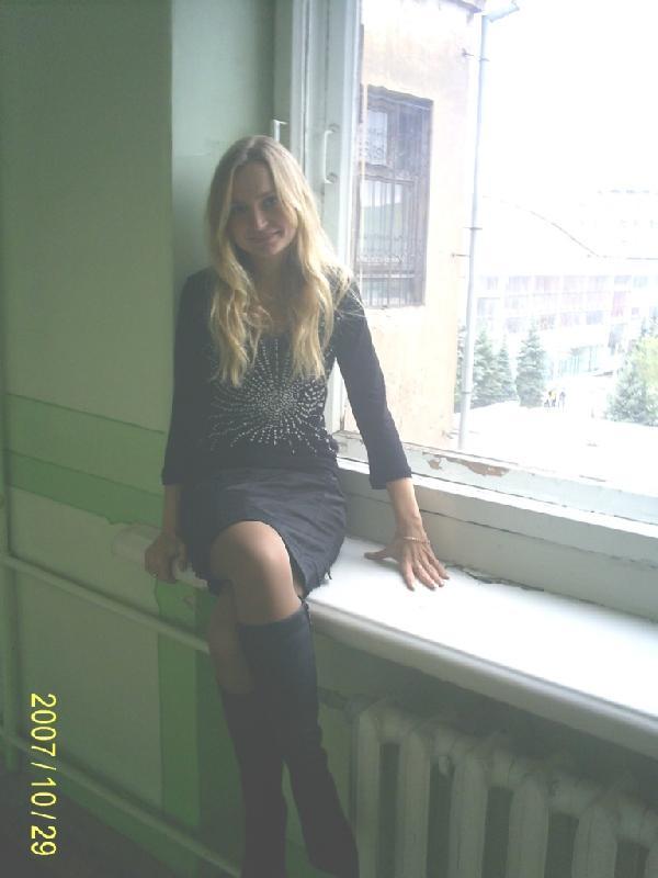 На окне родного факультета