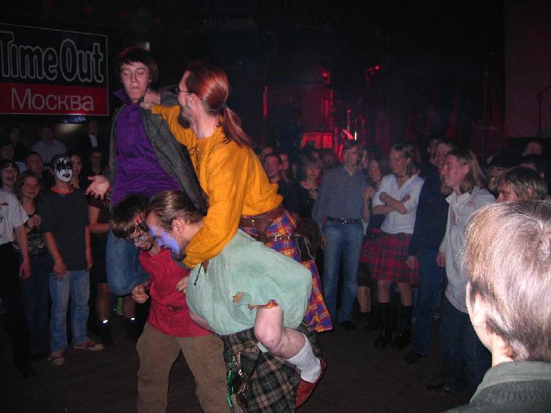самайн - кельтские народные  драки верхом