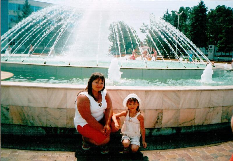 Настя с Дианой