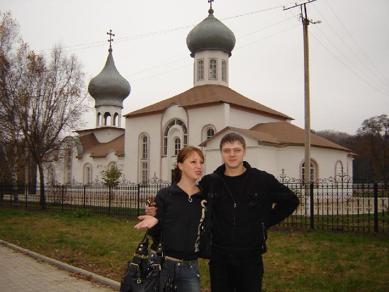 Церковь в Фокино