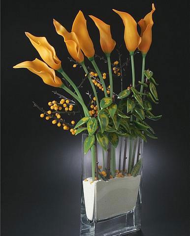 фото стеклянных цветов: