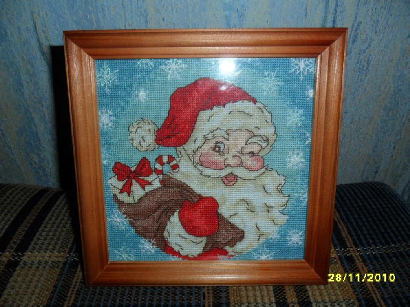ретро Санта-клаус, схема из