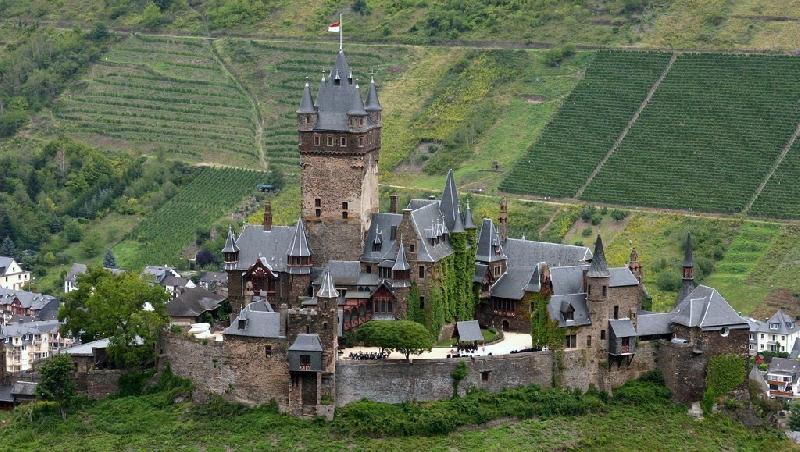 Замок Кохем.