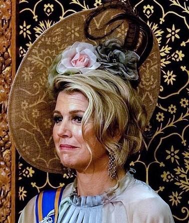 Королева  Нидерландов  Максима