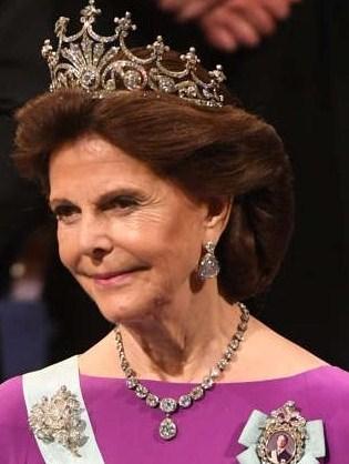 Шведская королева Сильвия