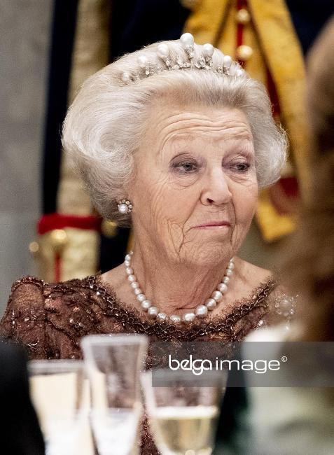 Бывшая королева Нидерландов Беатрикс.