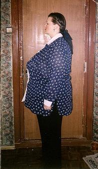 Промежуточное фото. Вес 141 кг (-30 кг от начала)
