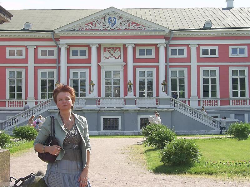 В Кусково-лето 2007