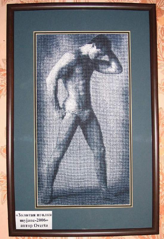 Схемы вышивки крестиком для мужчин 95