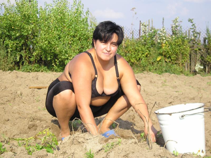 Жена раком в огороде фото63