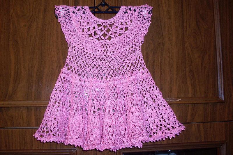 Вязание для девочки до года из ниток ирис 23