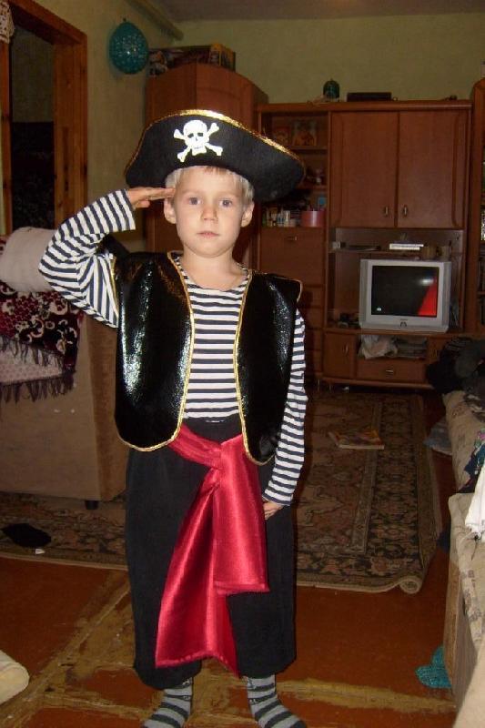 Женский Пиратский Костюм
