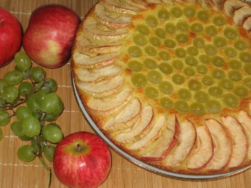 Манник с фруктами рецепт с фото