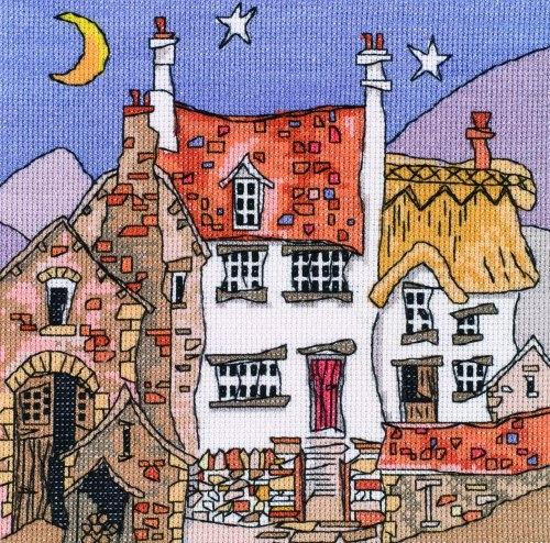Скачали: 394 раз(а). Fairy Castle.  Схемы вышивки.  Greek Village.  Категории.  Быстрый переход по схемам.
