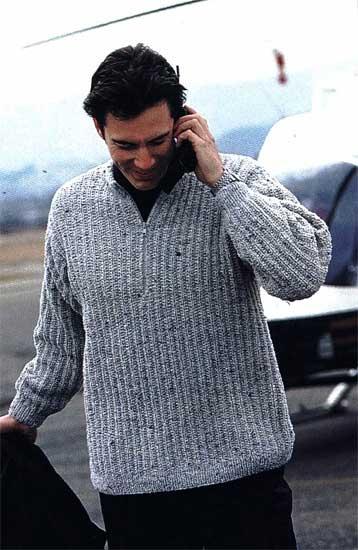 Вязаный жилет на спицах женский. мужской свитер вязание с v-вырезом.