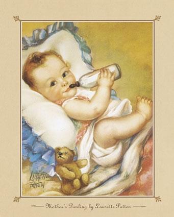 вышивка крестиком малыш