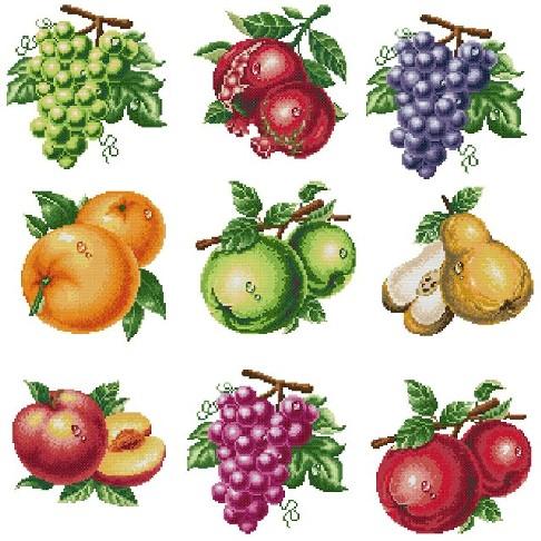 Бисероплетение схемы фруктов - Делаем фенечки своими руками.