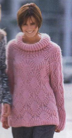 Уровень сложности схемы вязания ажурного пуловера: следующий шаг в...