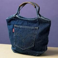 схема выкройки сумки из джинсов