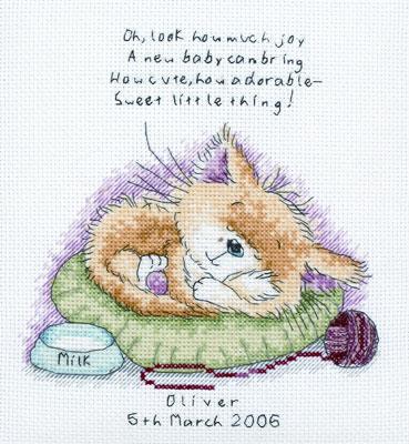 Схемы вышивки животных