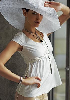 блузка с рюшами выкройка (28