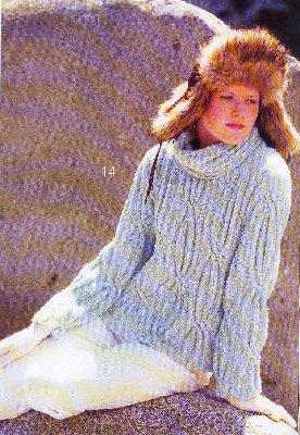объемное вязание спицами - Выкройки одежды для детей и взрослых.