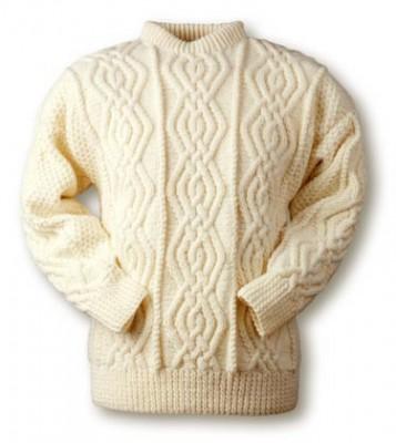 Вязание спицами - мужской свитер. норвежский мужской свитер.