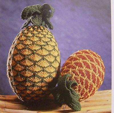 Вязаные фрукты. в. Игрушки.