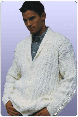 Жакет. ссылка. мужские пуловеры. вязание