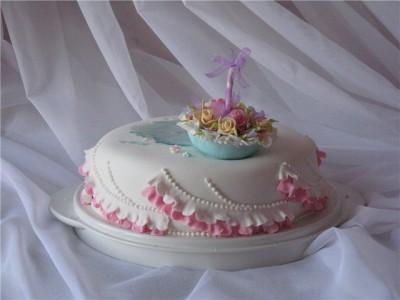 Как сделать зонтик на торт