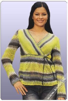 Рубрика: Вязание спицами для женщин Кардиганы Метки: кардиган с круговой...