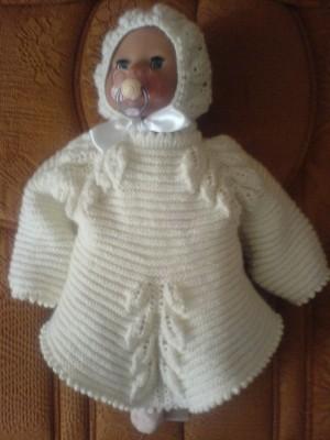 Вязание спицами шапок для новорожденных зимних