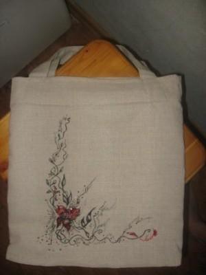 Украсить сумку бисером: подкиньте идею, пожалуйста!