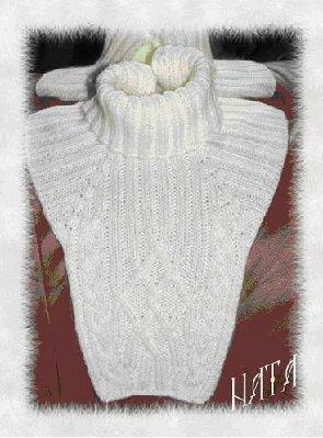 шарф-манишка из НовитыВул.