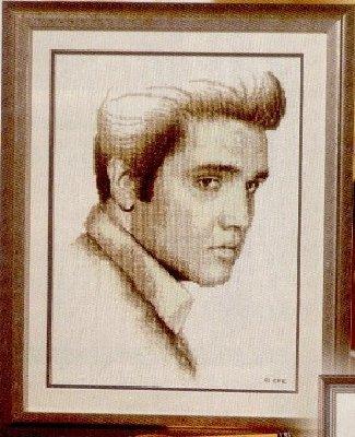 Э́лвис Ааро́н Пре́сли (англ.  Elvis Aaron Presley; 8 января 1935 - 16 августа 1977) - американский певец и актёр.