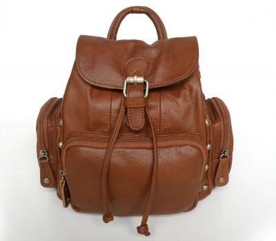 Леди Стиль уникальный стиль Vintage Тан кожа рюкзак сумка 3013B-1.