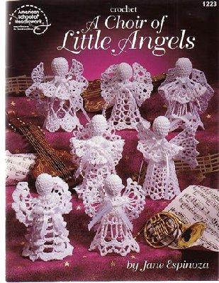 вязанные ангелочки