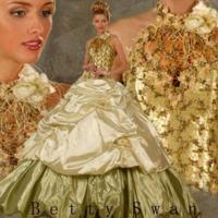 48775123 - Пышные - По виду - - Примеры платьев.
